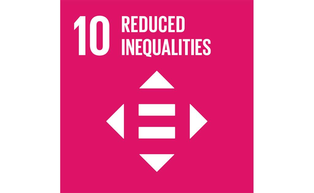Image of UN goal 10