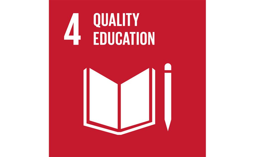 Image of UN goal 4