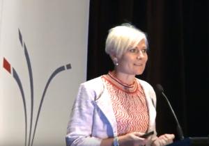 Image of Jayne Meyer Tucker Speaking